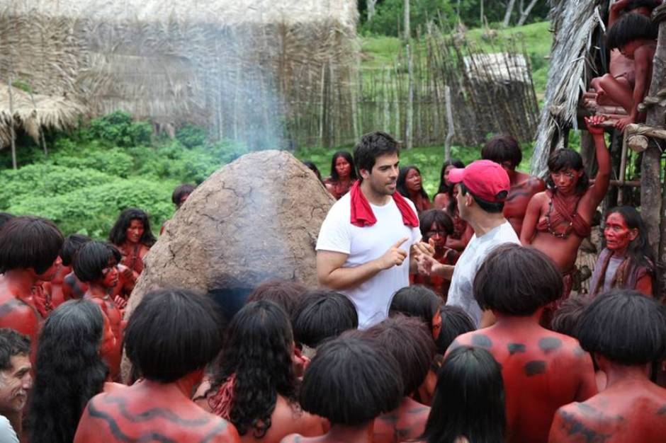The Green Inferno behind the scene