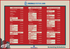Cinema One Originals 2015 megamall schedule