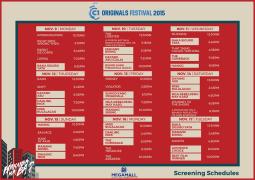 Cinema One Originals 2015 megamall schedule