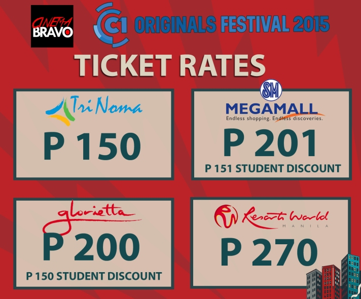 cinema one originals 2015 ticket rates