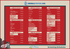 Cinema One Originals 2015 trinoma schedule