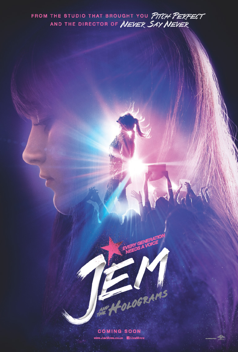 Jem and the Holograms-Poster2