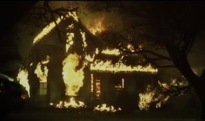 operator movie burning house