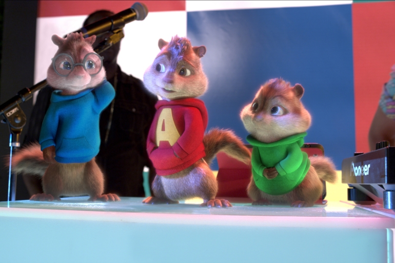 ALVIN AND THE CHIPMUNKS 4 _THE ROAD CHIP