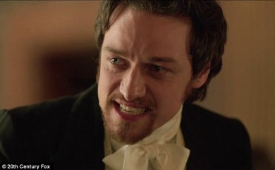 james mcavoy as VICTOR FRANKENSTEIN