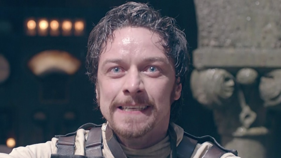 james mcavoy as VICTOR FRANKENSTEIN_