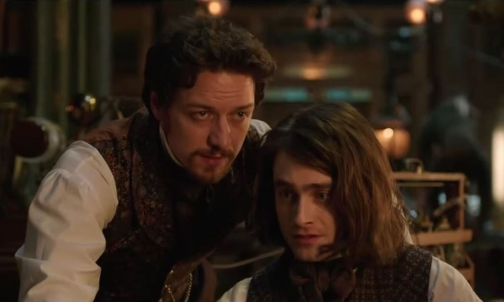 james mcavoy& daniel radcliffe in VICTOR FRANKENSTEIN