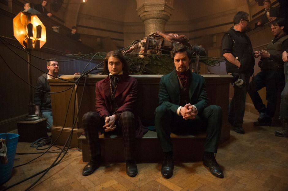 james mcavoy daniel radcliffe in VICTOR FRANKENSTEIN