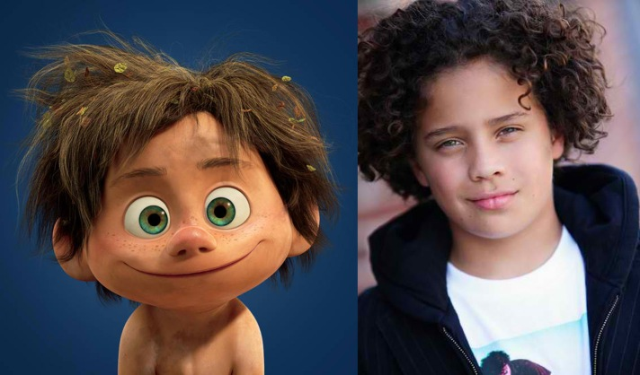 Jack Bright voices Arlo in 'The Good Dinosaur'