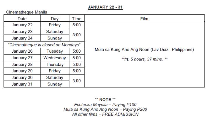 cinematheque manila schedule 2