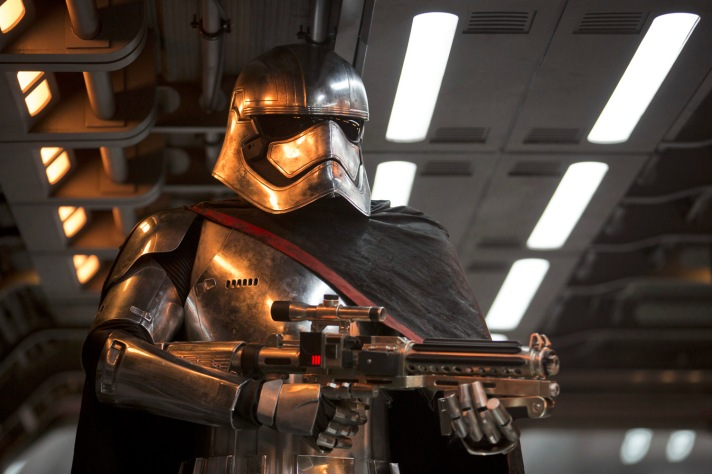 Star Wars: The Force Awakens. Captain Phasma (Gwendoline Christie).