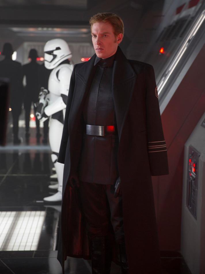 Star Wars: The Force Awakens. General Hux (Domhnall Gleeson).