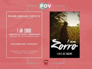 Piling Obrang Vidyo I Am Zorro