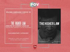 Piling Obrang Vidyo - The Higher Law
