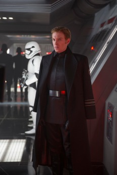 General Hux (Domhnall Gleeson)..Ph: David James..?Lucasfilm 2015
