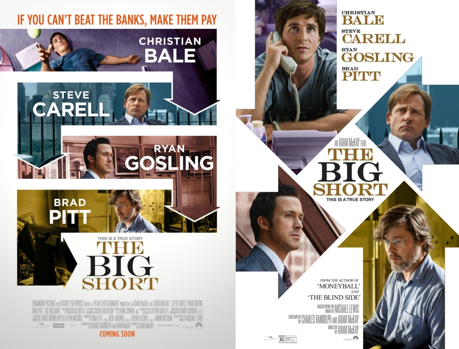 The Big Short posters