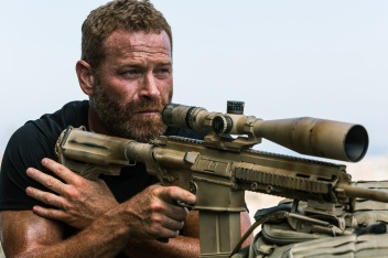 """Max Martini plays Mark """"Oz"""" Geist in 13 Hours: The Secret Soldiers of Benghazi from Paramount Pictures and 3 Arts Entertainment / Bay Films in theatres January 15, 2016."""