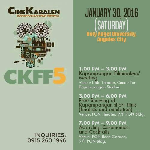 cinekabalen 2016 schedule