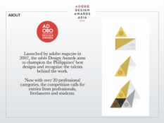 cinemansanas adobo design awards asia 2