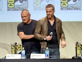 director Tim Miller and Ryan Reynolds -DEADPOOL
