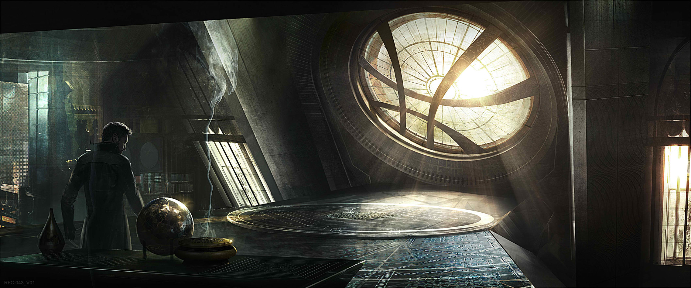 Behold New Doctor Strange Concept Art Images Cinema Bravo
