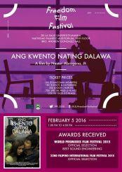 freedom film festival 2016 ang kwento nating dalawa