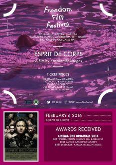 freedom film festival 2016 esprit de corps