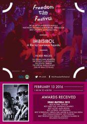 freedom film festival 2016 imbisibol