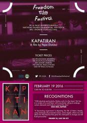 freedom film festival 2016 kapatiran