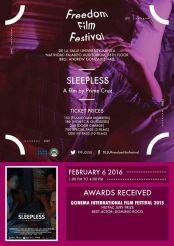 freedom film festival 2016 sleepless