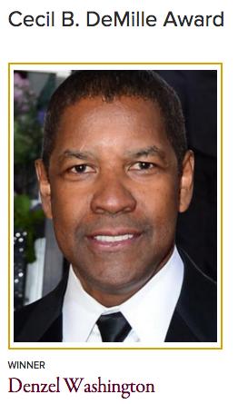 Golden Globe Awards 2016 Cecil B. DeMille Award