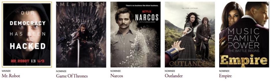 Golden Globes 2016 Best Television Series - Drama