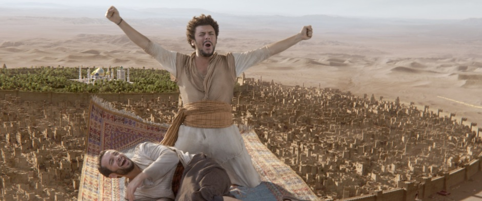 kev adams in THE NEW ADVENTURES OF ALADDIN