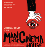 man in the cinema house poster