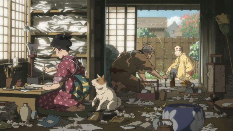 miss hokusai anime 2