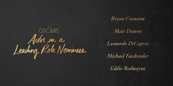 oscars 2016 best actor