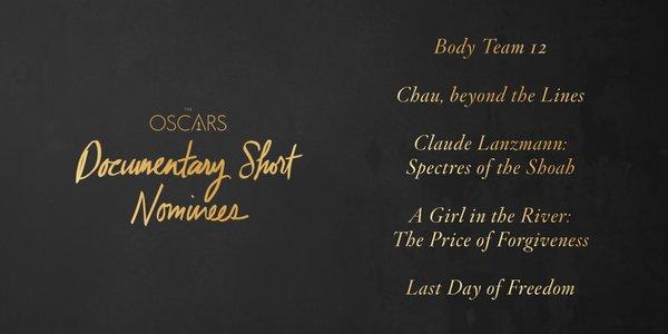 Oscars 2016 best documentary short