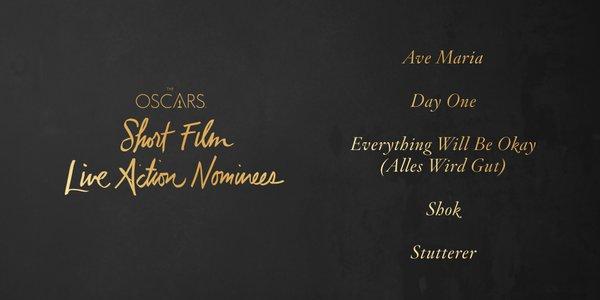 Oscars 2016 best live action short