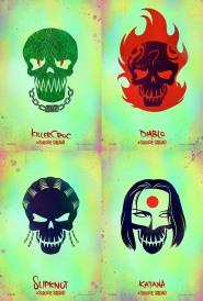 Suicide Squad_KIllerCroc_Diablo_Slipknot_Katana