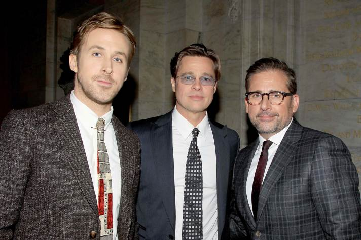 The Big Short Ryan Gosling Brad Pitt Steve Carell