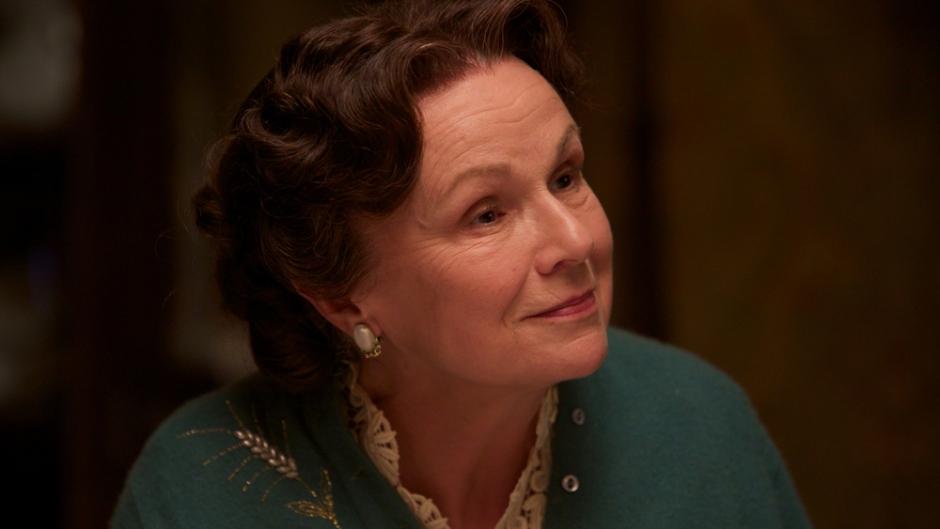 Julie Walters plays Mrs. Madge Kehoe in 'Brooklyn.'