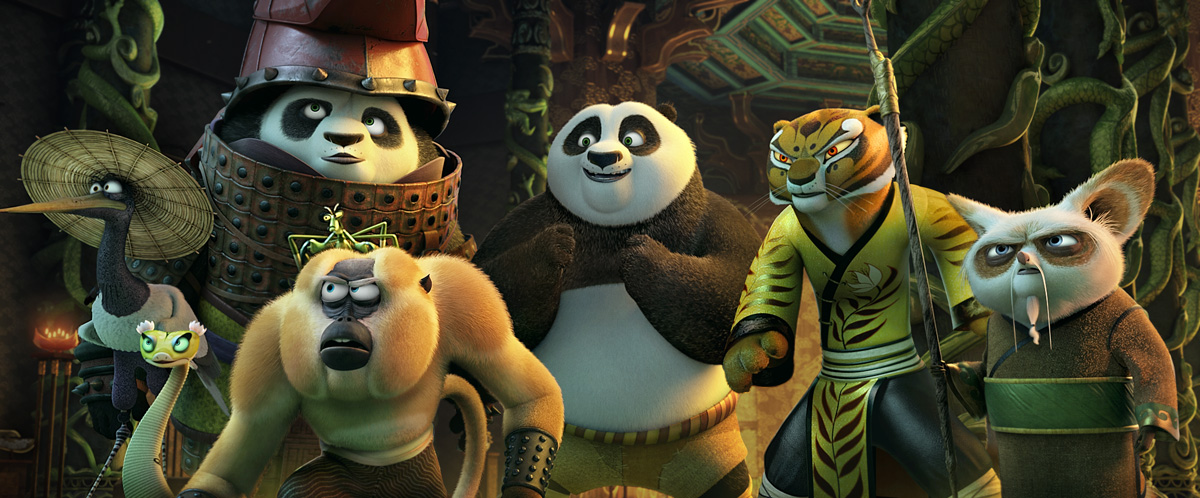 meet the cast of kung fu panda 2