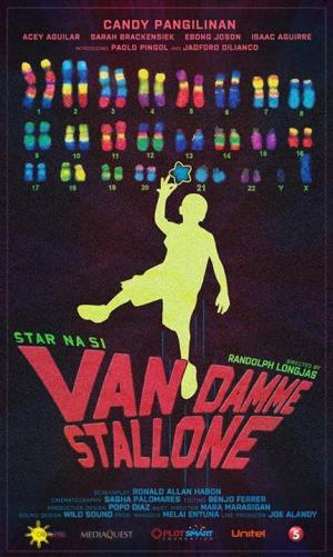 CineFilipino Star Na Si Van Damme Stallone movie poster