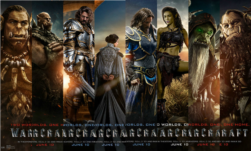 Movies 2016 Posters: Warcraft: The Beginning