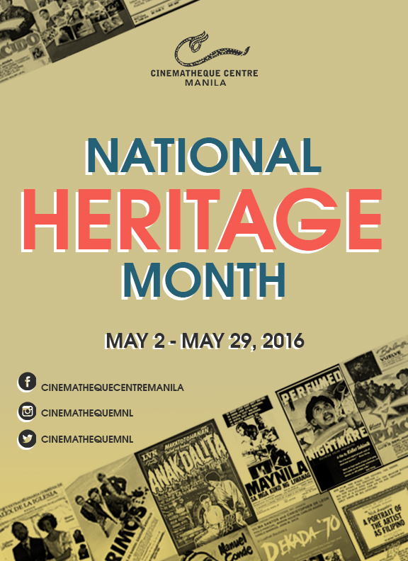 National Heritage Month poster