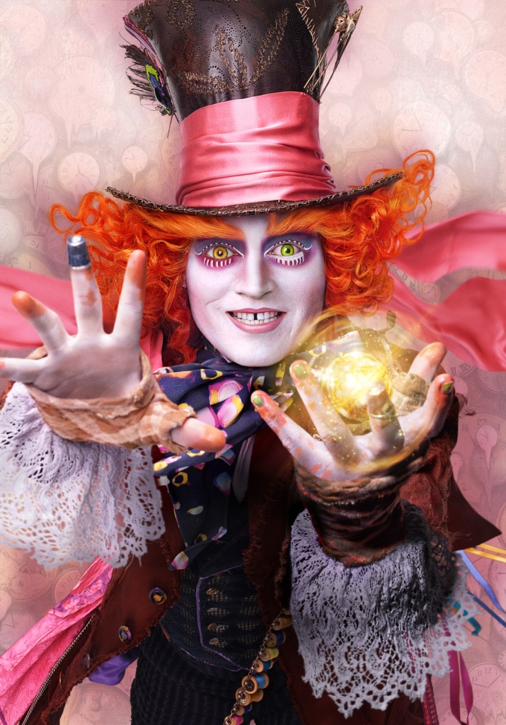 alice through the looking glass depp