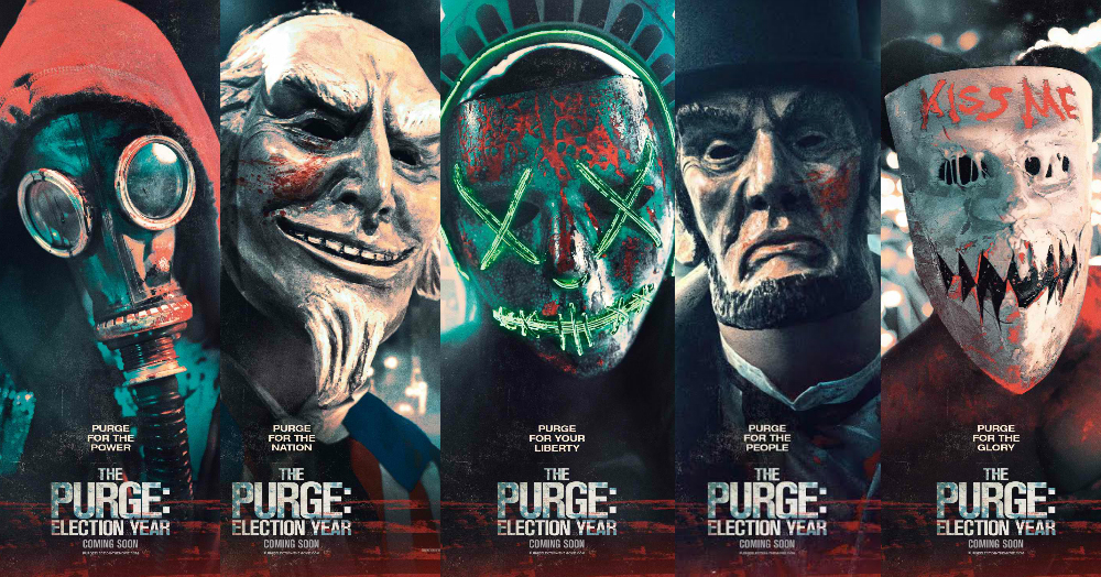The Purge 3 Election Year Campaigns With New Posters