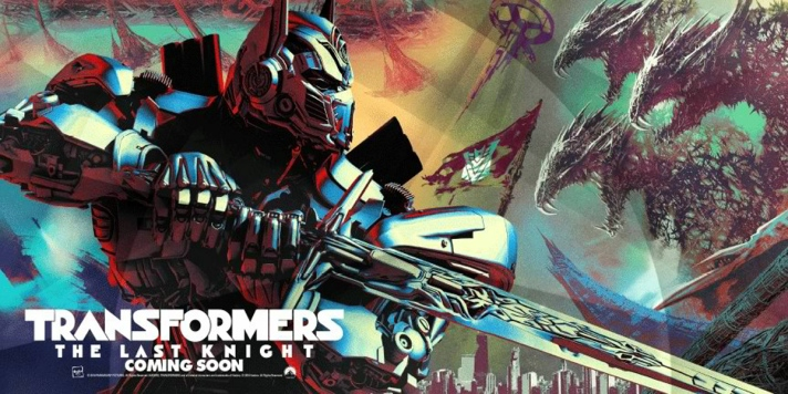 Transformers The Last Knight movie banner