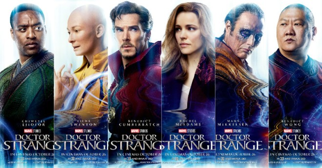 Image result for doctor strange movie characters