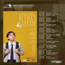 kiko boksingero cinemalaya screening schedules